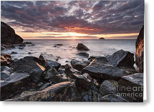 Ayrshire Coast Greeting Card by Rod McLean
