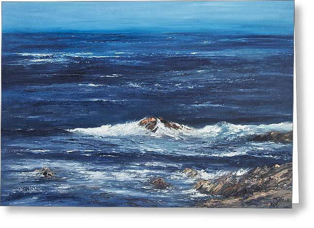 Rocky Shore Greeting Card