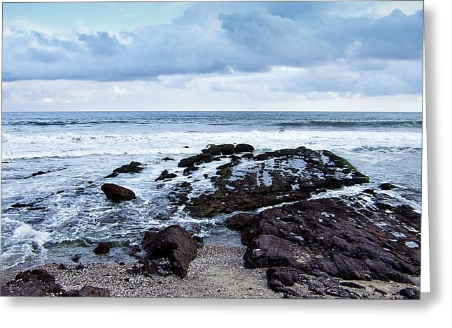 Rocky Shoreline Greeting Card