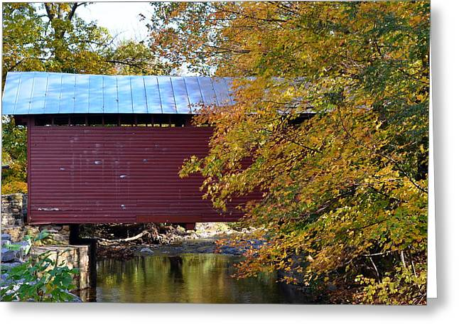 Roddy Road Covered Bridge Greeting Card