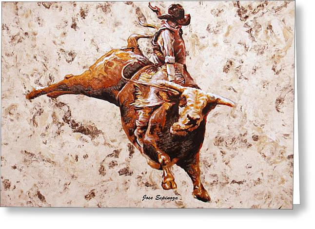 Rodeo 1 Greeting Card