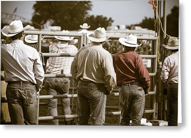 Rodeo Cowboys Greeting Card