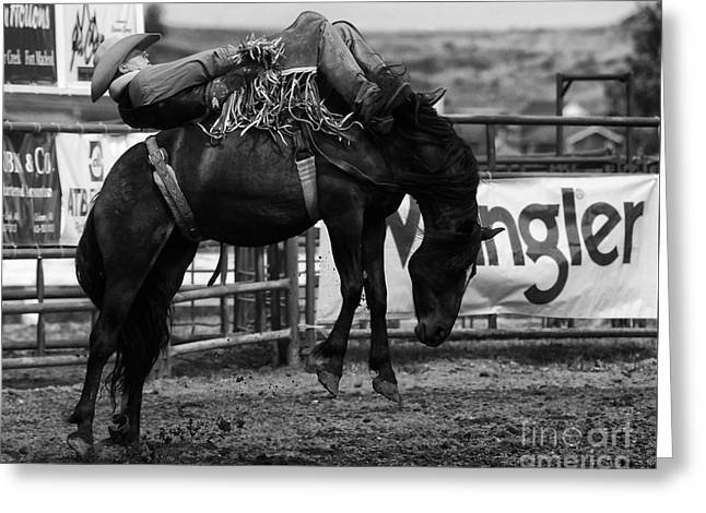 Rodeo Power Of Conviction Greeting Card
