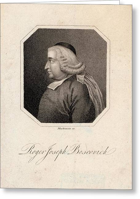 Roger Joseph Boscovich Greeting Card by Joseph Muller Collection /new York Public Library