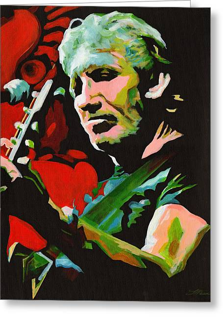 Roger Waters. Breaking The Wall  Greeting Card