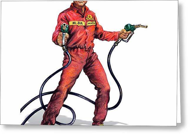 Rogue Oil Industry Greeting Card