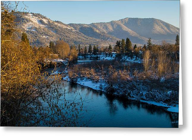 Rogue River Winter Greeting Card