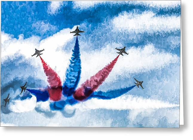Rokaf Oil Painting Greeting Card