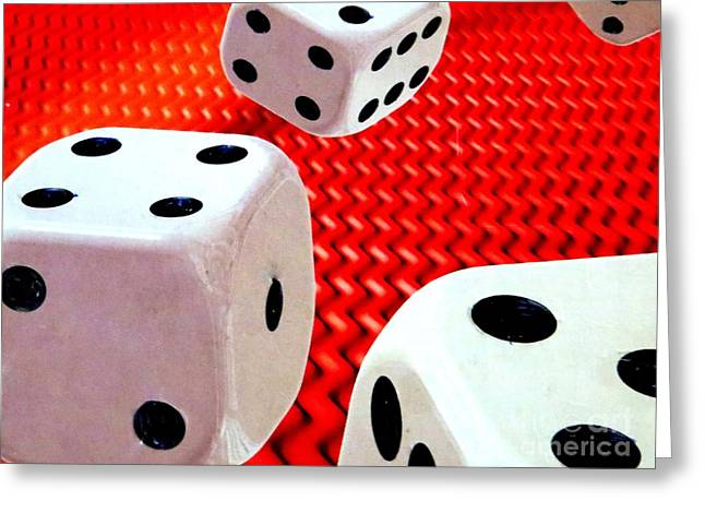 Roll Of The Dice Greeting Card