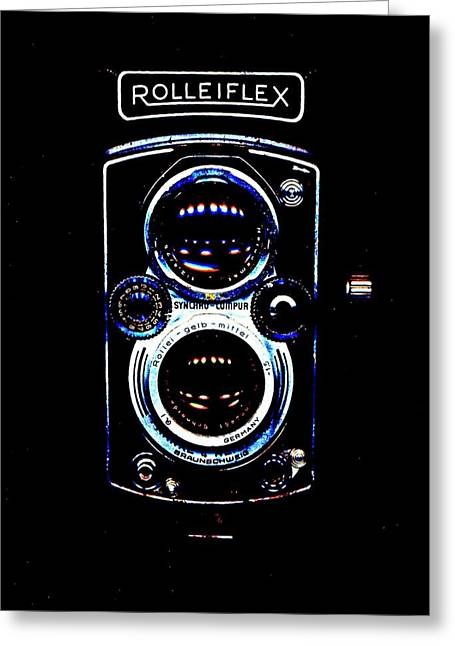 Rolleiflex 1950's Greeting Card