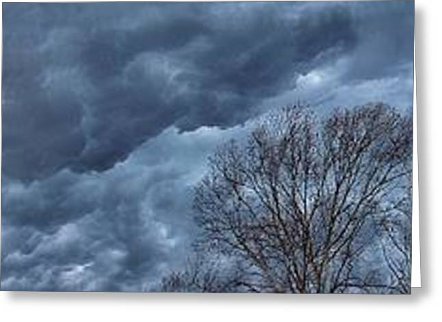 Rolling Thunder Greeting Card by AK Photography