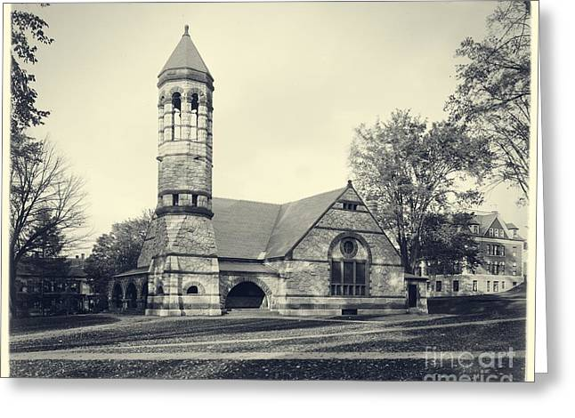 Rollins Chapel Dartmouth College Hanover New Hampshire Greeting Card by Edward Fielding