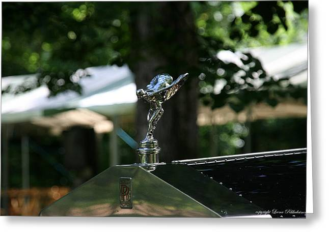 Greeting Card featuring the photograph Rolls Royce by Leena Pekkalainen