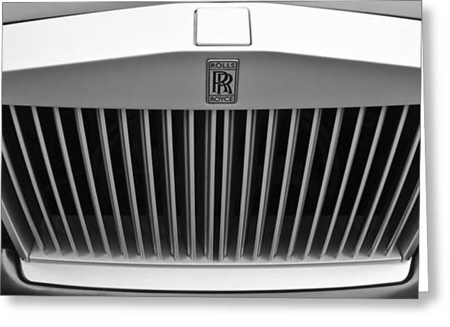 Rolls Royce Greeting Card by Maj Seda