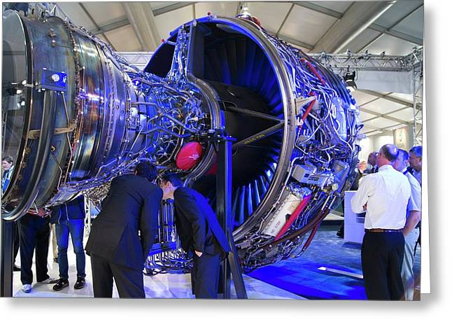 Rolls-royce Trent 1000 Greeting Card by Mark Williamson