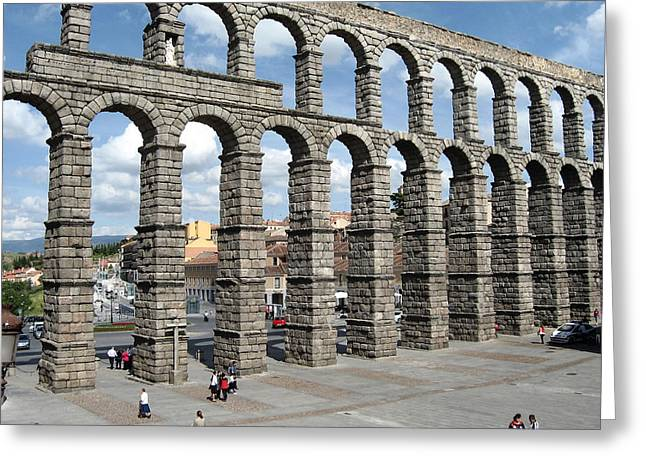 Roman Aqueduct IIi Greeting Card