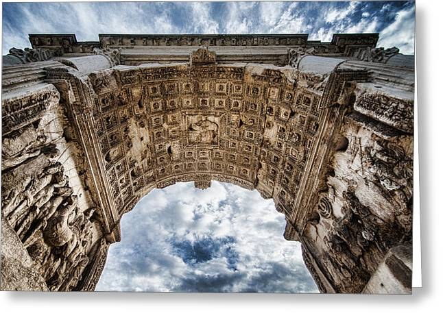 Roman Arch Greeting Card