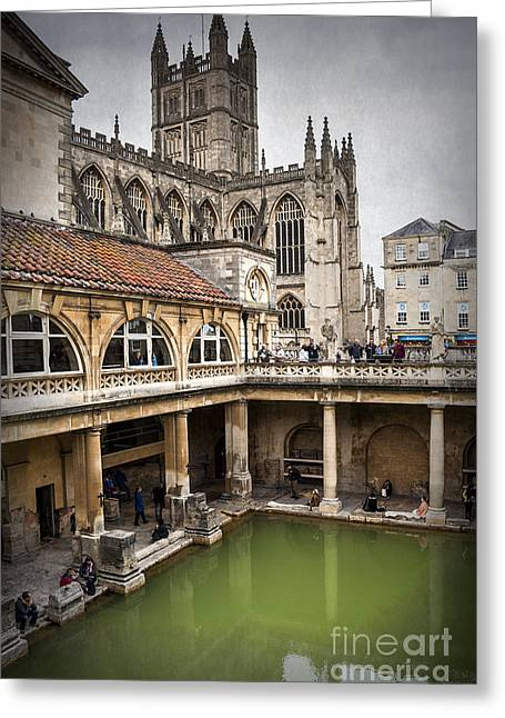 Roman Bath 01 Greeting Card