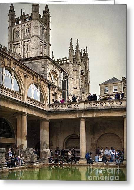 Roman Bath 04 Greeting Card