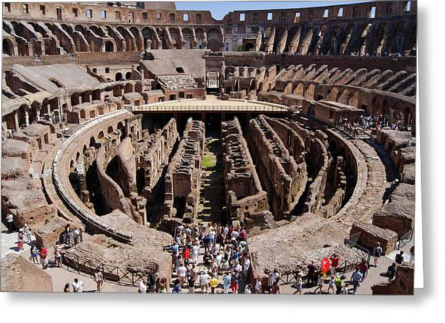 Roman Colosseum. Greeting Card