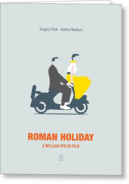 Roman Holiday Greeting Card by Smile In The  Mind