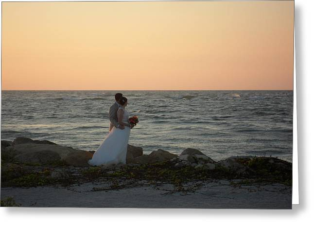 Romance In Captiva Greeting Card