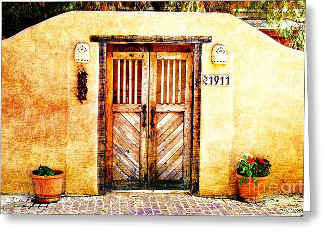Romance Of New Mexico Greeting Card
