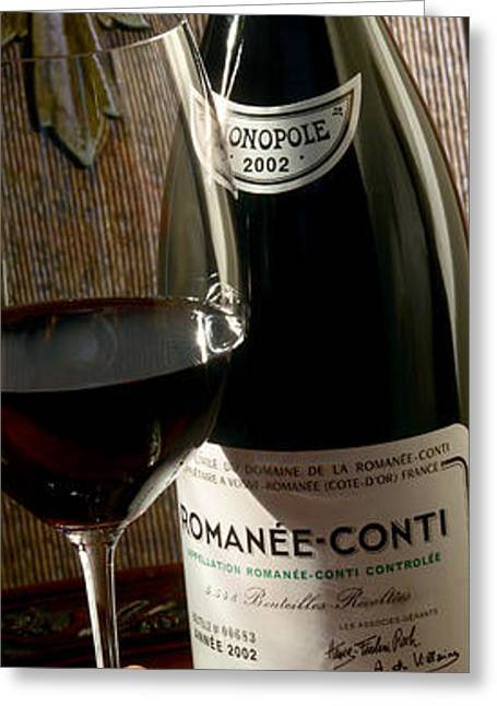 Romanee Conti Greeting Card by Jon Neidert