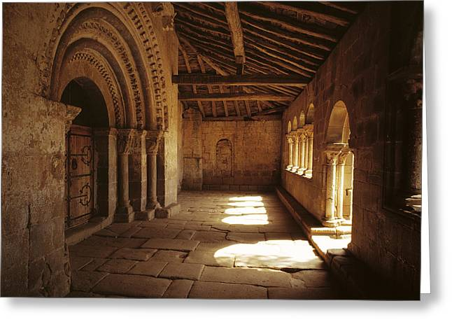 Romanesque Parrish Church 12th Century Greeting Card