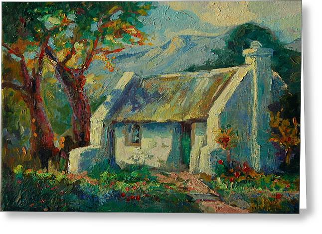 Romantic Cape Cottage Greeting Card