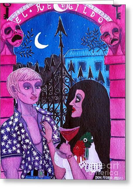 Romantic Couple Greeting Card