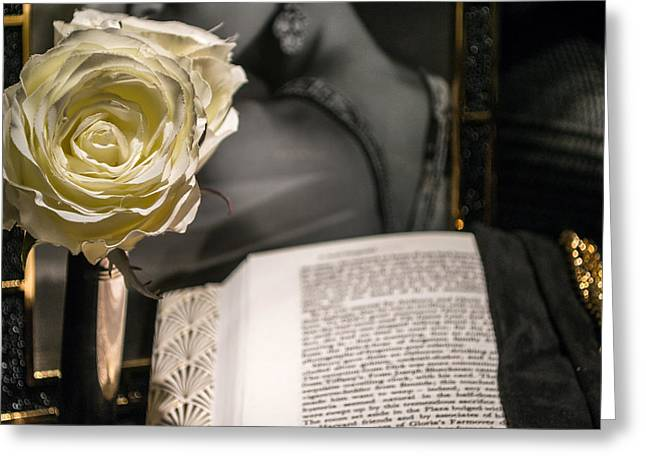 Romantic Novel Greeting Card