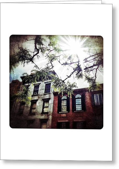 Romantic West Village Greeting Card by Natasha Marco