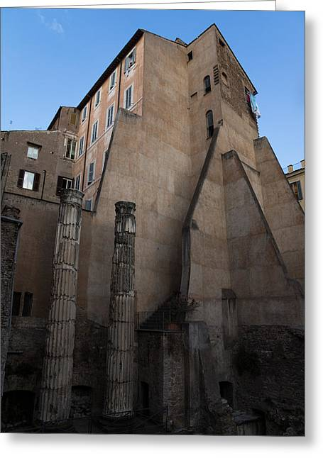 Rome - Centuries Of History And Architecture  Greeting Card