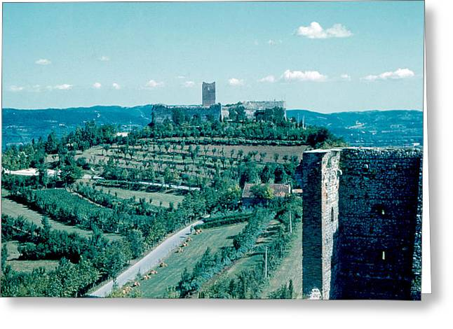 Romeo Castle 1962 Greeting Card by Cumberland Warden