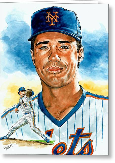 Ron Darling Greeting Card by Tom Hedderich