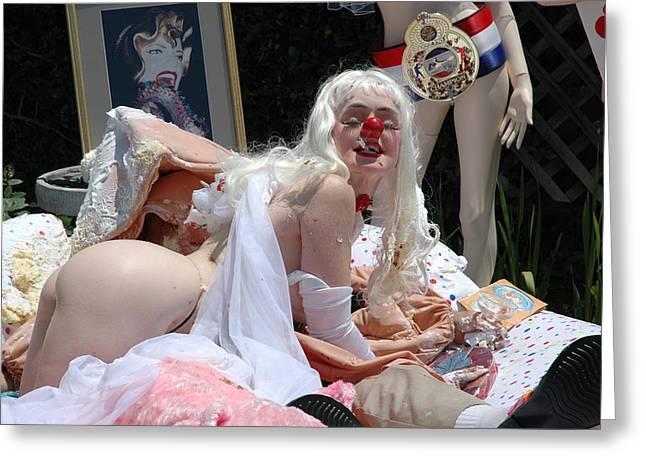 Roobie Breastnut In The Wedding 165 Greeting Card by Liezel Rubin