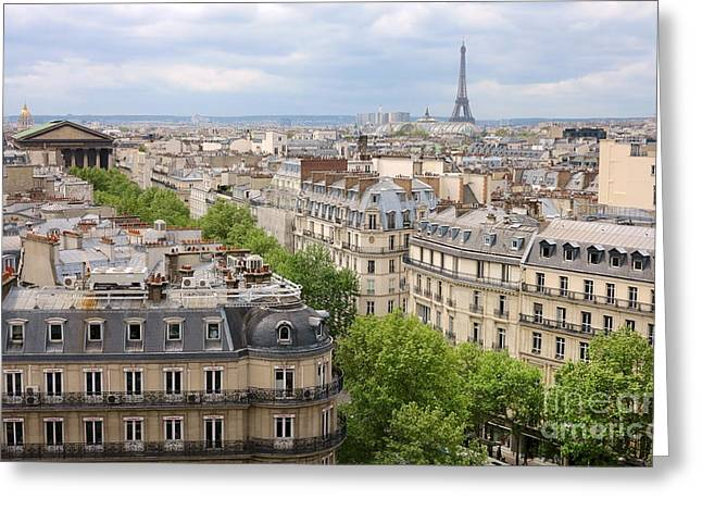 Rooftops Of Paris IIi Greeting Card