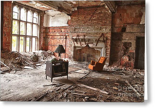 Room For Improvement Greeting Card by Terry Rowe