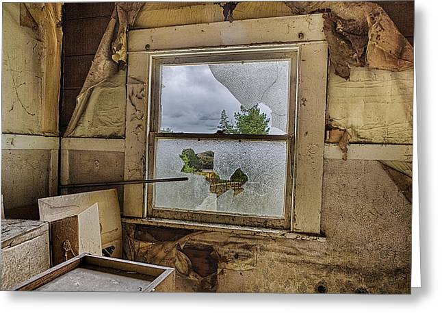 Room With A View Greeting Card by Caitlyn  Grasso