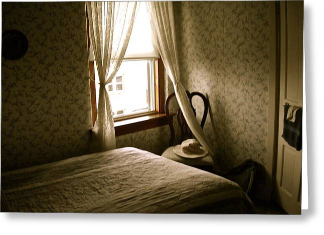 Greeting Card featuring the photograph Room301 Irish Inn by Joan Reese
