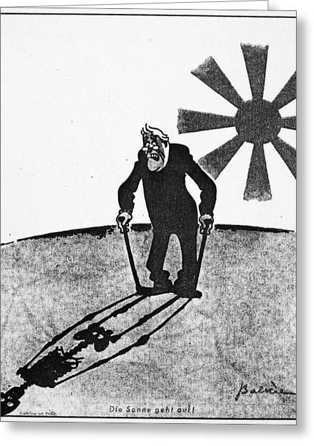 Roosevelt Cartoon, 1941 Greeting Card by Granger