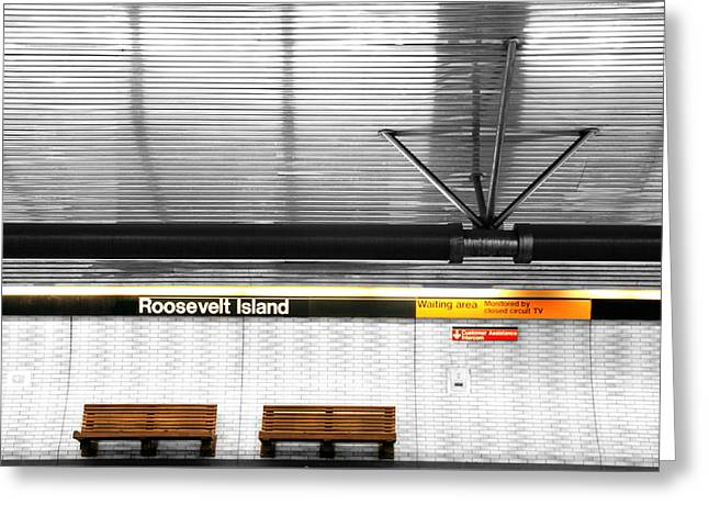Roosevelt Island Subway Greeting Card