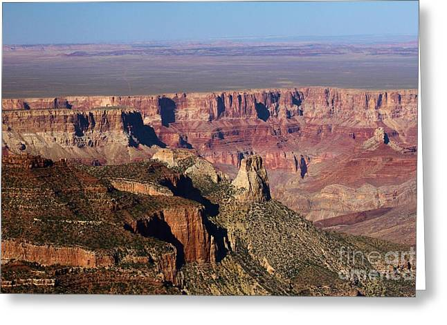 Roosevelt Point Landscape Greeting Card by Adam Jewell