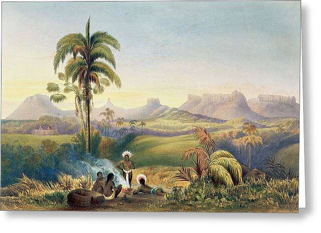 Roraima, A Remarkable Range Greeting Card