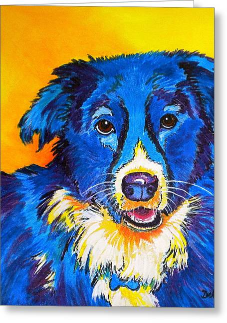 Rory Greeting Card by Debi Starr