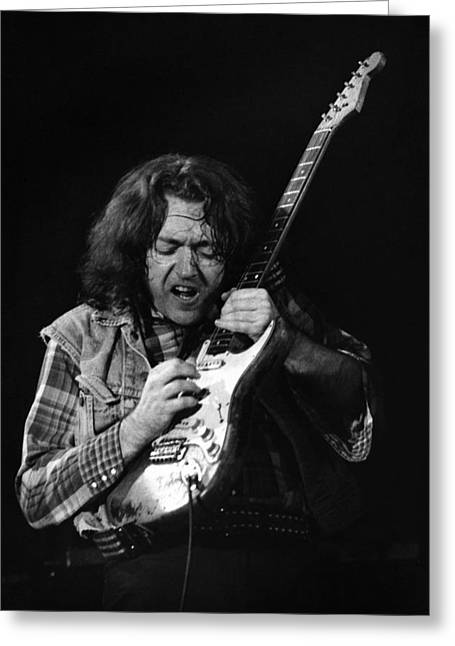 Rory Gallagher 1 Greeting Card