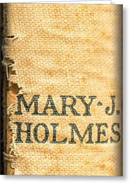 Rosamond By Mary J. Holmes Greeting Card by Edward Fielding