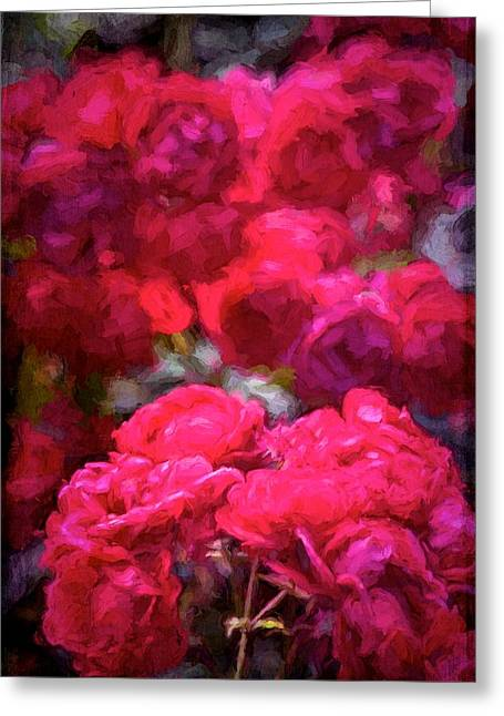 Rose 134 Greeting Card by Pamela Cooper