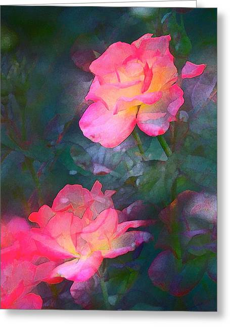 Rose 194 Greeting Card by Pamela Cooper